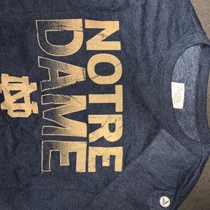 Notre Dame Crewneck